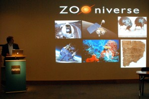 Chris announces Zooniverse