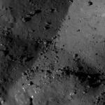 Terrain forming a cross near Aristarchus crater
