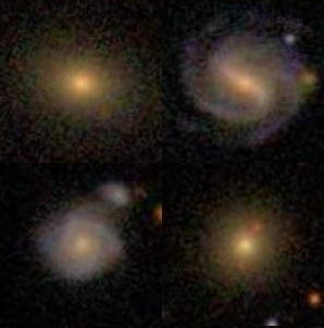 Example galaxies